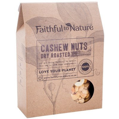 Cashews Dry Roasted 300g (Faithful To Nature)