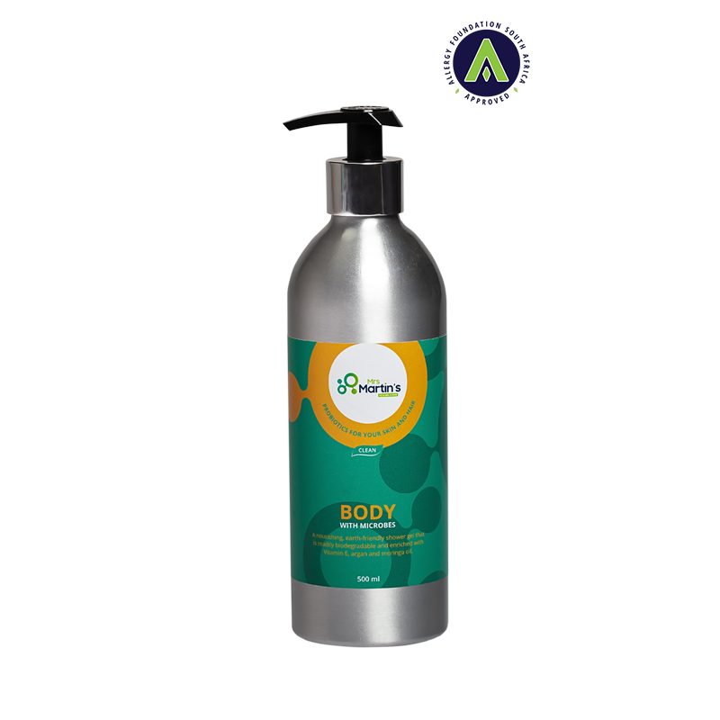 BODY Probiotic wash-aluminium