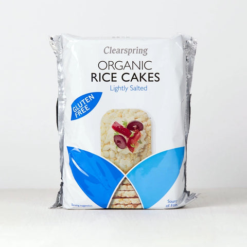 Rice cakes Clearspring Lightly salted