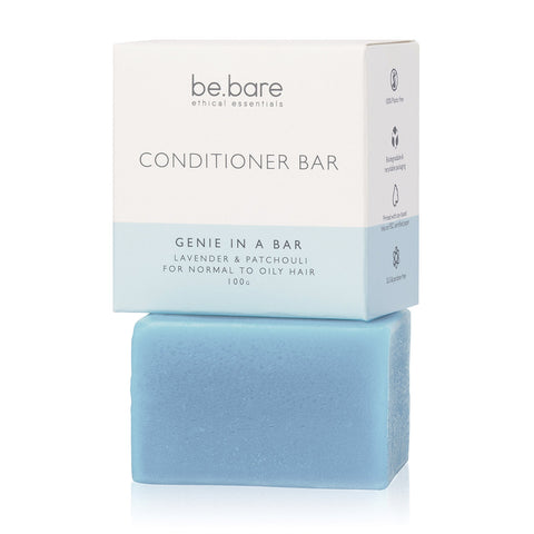 Be Bare Genie in a bar conditioner