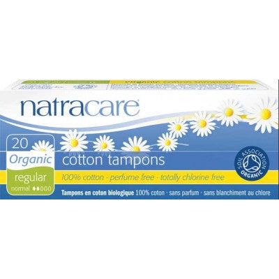 Organic Cotton Regular tampons 20