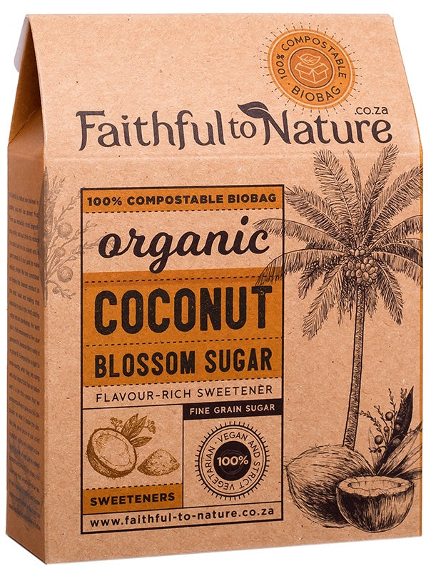 Organic Coconut Blossom Sugar Fine (Faithful to Nature)