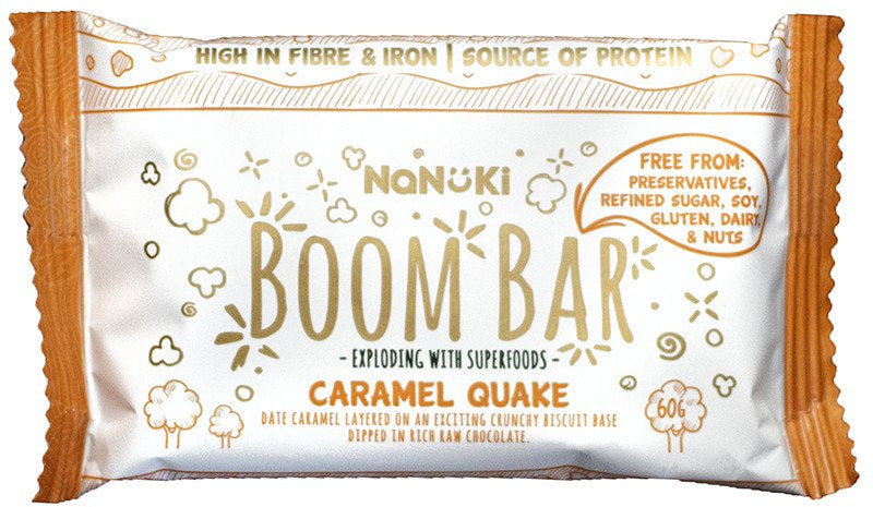 Caramel Quake Boom Bar