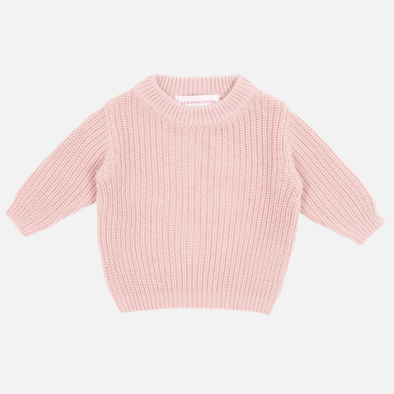 Chunky Knit - Rose Quartz