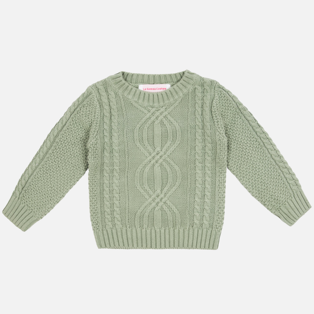 Pullover Knit - Sage