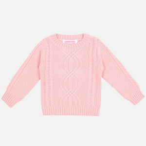Pullover Knit - Peachy Pink