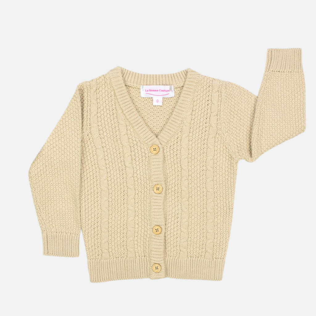 Knitted Cardigan - Sand