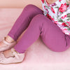 Cozy Leggings - Wild Berry