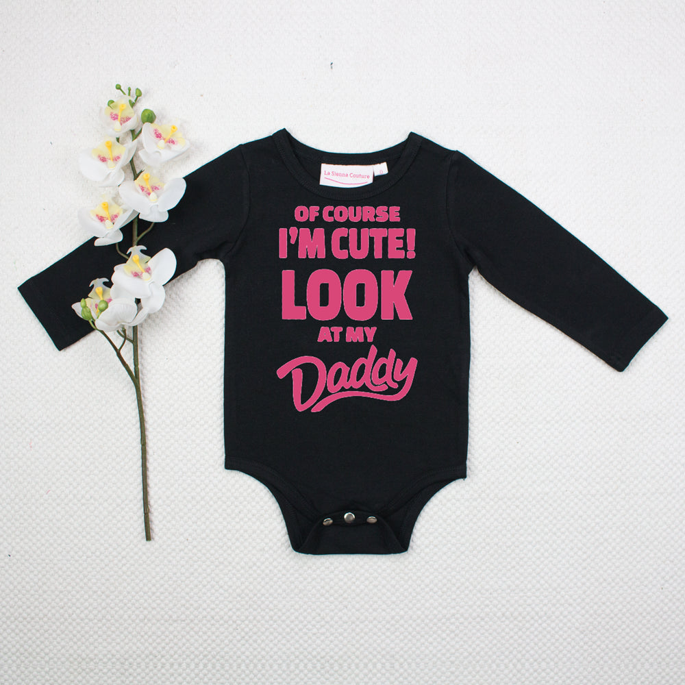 Of Course I'm Cute! - Unisex Long Sleeve  - Custom