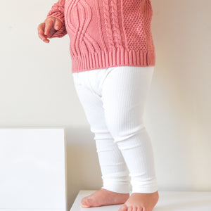 Cozy Leggings - Coconut Milk
