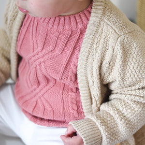 Pullover Knit - Burnt Rose
