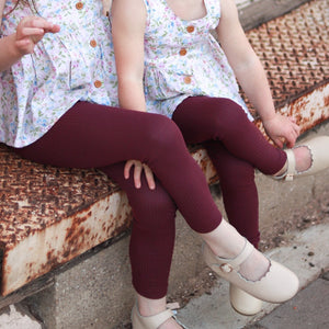 Cozy Leggings - Port