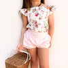 Button Romper - Cristabella