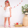 Cozy Summer Tutu Dress - Coconut Milk