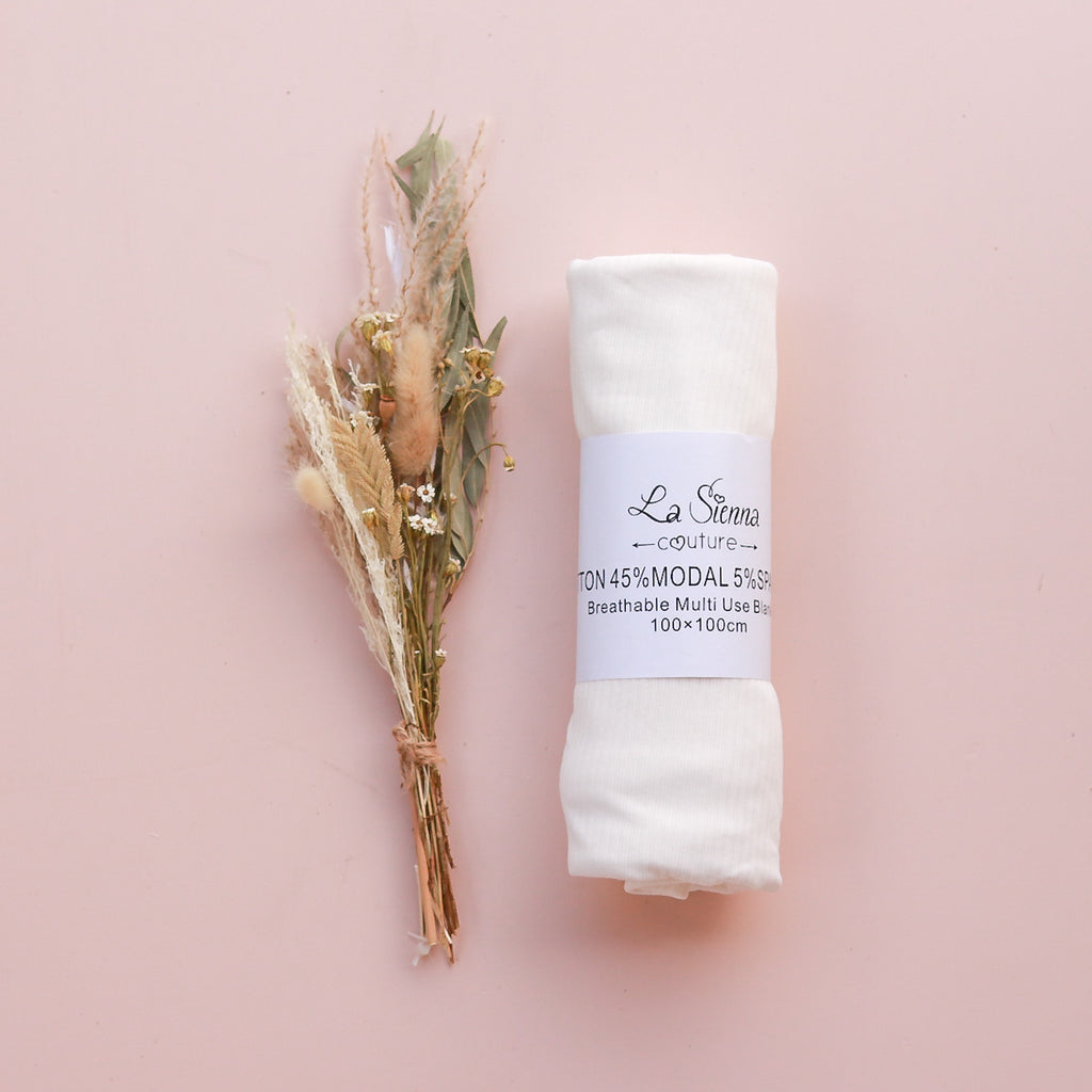 Cozy Baby Wrap - Coconut Milk