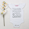 This little Princess is going to be a BIG Sister - Vinyl - Custom