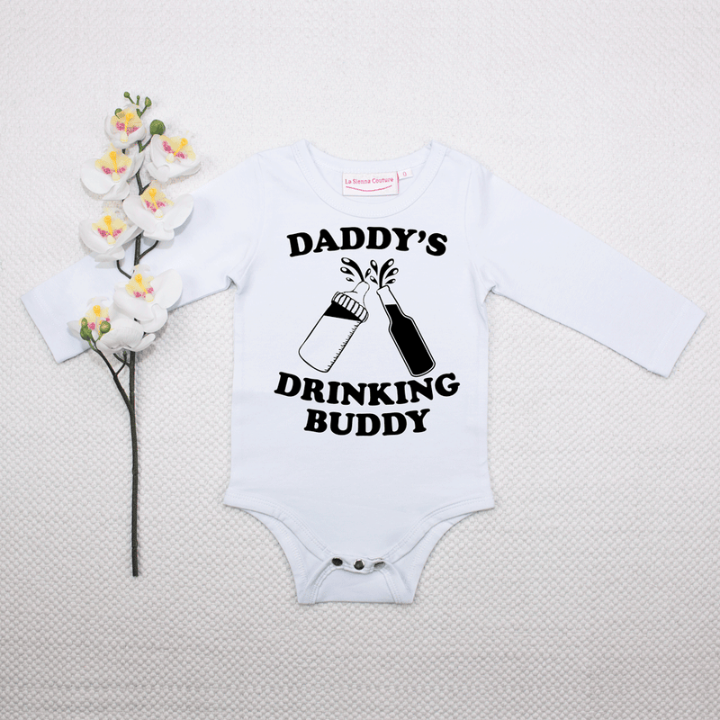 Daddy's Drinking Buddy - Unisex Long Sleeve - Custom