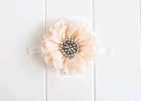 Headband Elastic - Daisy Cream