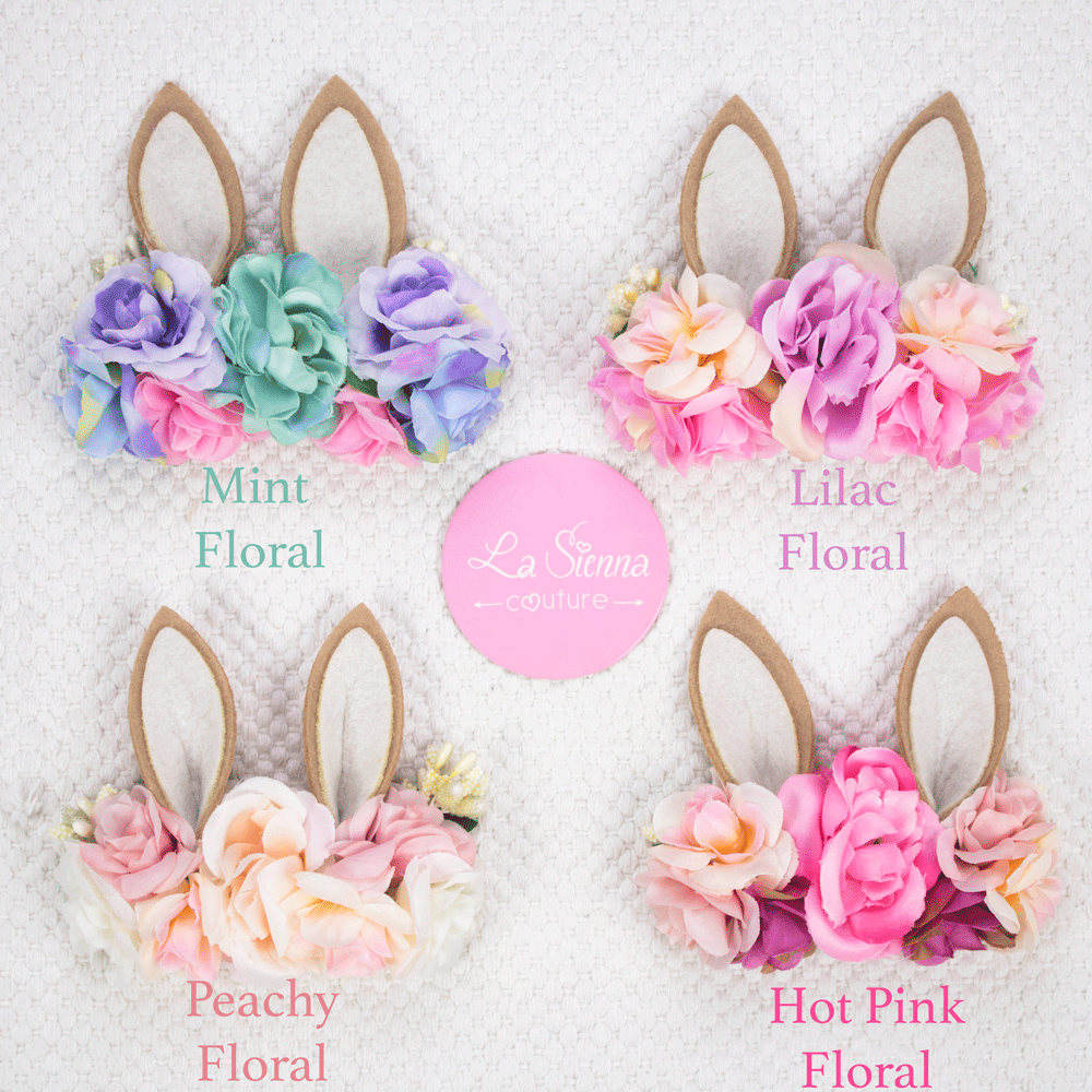 Floral Easter Headpiece - Headband