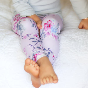 Floral Leggings + Headband - Emily