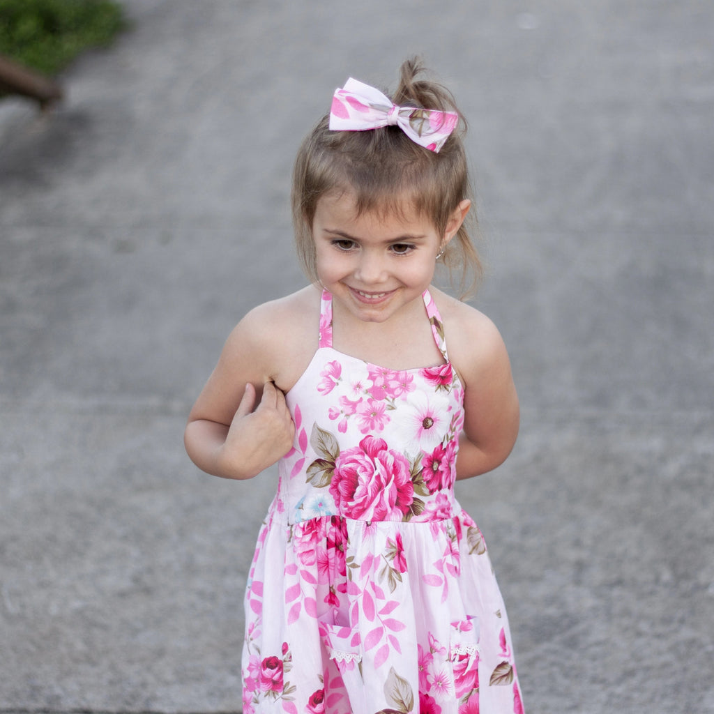 Summer Dress + Headband - Gabriella