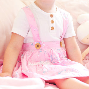 Suspender Skirt + Headband - Halle