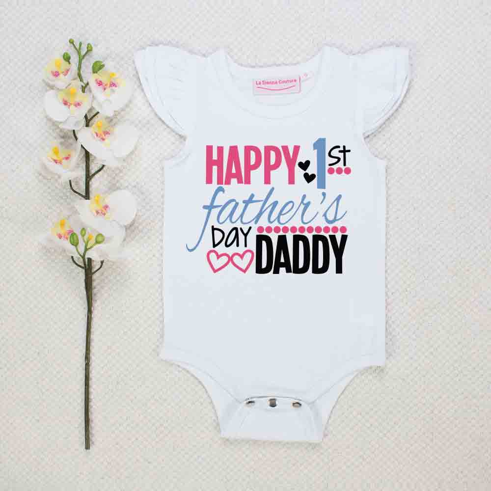 Happy First Fathers Day - Custom