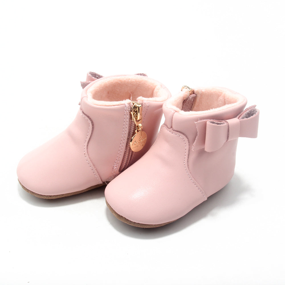 Ankle Boots - Baby Pink – La Sienna Couture