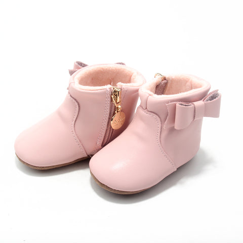 Ankle Boots - Baby Pink