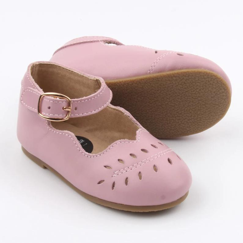 Bloom Mary Jane Shoes - Lavender Rose
