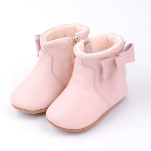 Ankle Boots - Dusty Pink