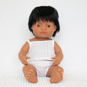 Miniland - Boy Doll
