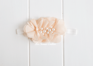 Headband Elastic - Lilly Cream