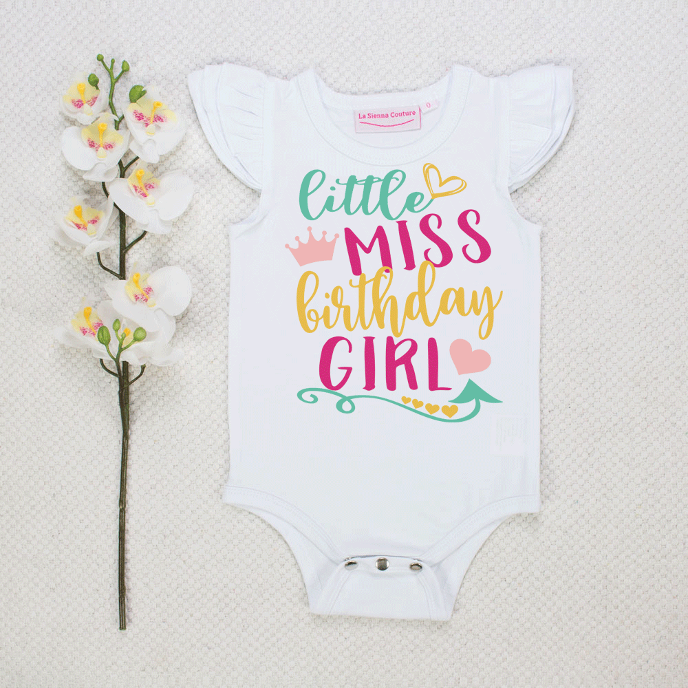 Little Miss Birthday Girl - Custom