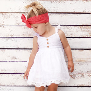 Sweetheart Dress + Headband - Noella