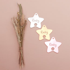 Ornament - Star - Custom Name