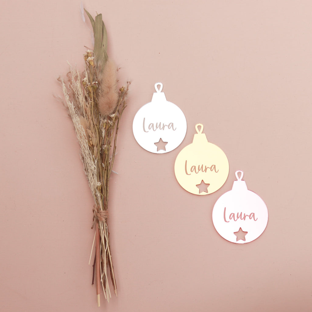 Ornament - Bauble - Custom Name