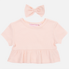 Cozy Ruffle Top - Peachy