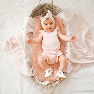 Cozy Singlet & Shorties Set - Peachy