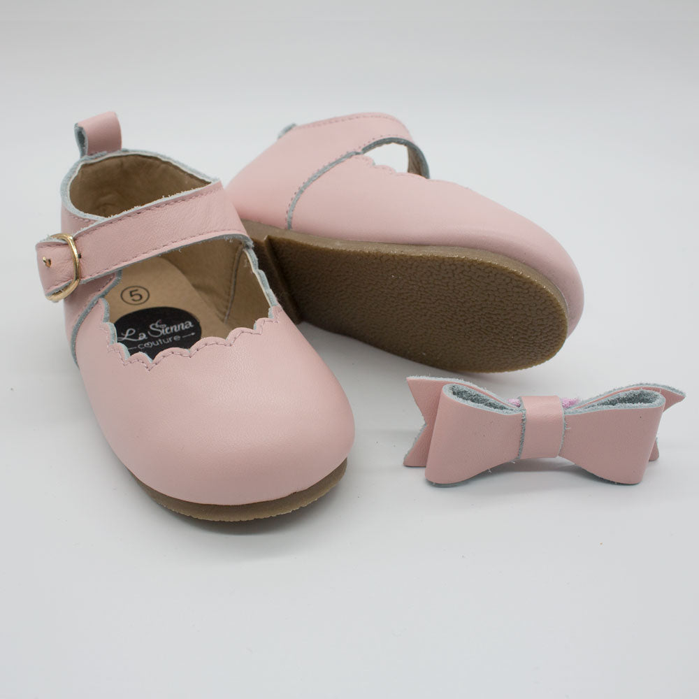 Mary Jane Shoes - Baby Pink – La Sienna