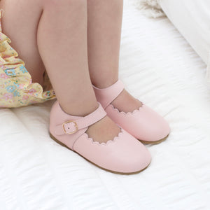 Mary Jane Shoes - Baby Pink