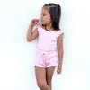 Cozy Singlet + Shorties Set - Pink Lemonade