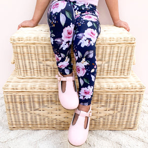 Floral Leggings + Headband - Wynter