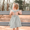 Muslin Sweetheart Dress - Sage