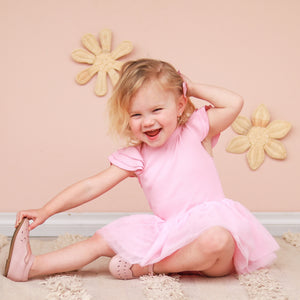 Cozy Summer Tutu Dress - Sugar Pink