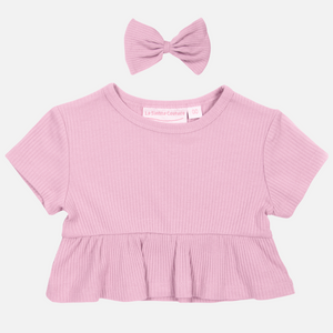 Cozy Ruffle Top - Tulip