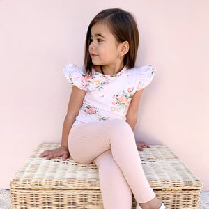 Cozy Leggings - Vintage Pink