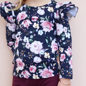 Long Sleeve Flutter - Wynter