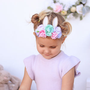 Floral Easter Headpiece