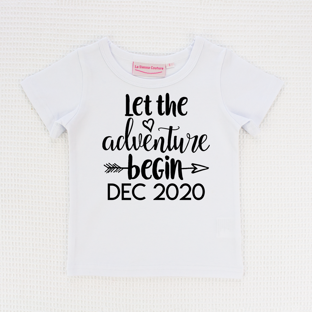 Let The Adventure Begin - Unisex Tee - Custom
